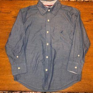 NWOT Nautica boys dress shirt size 8